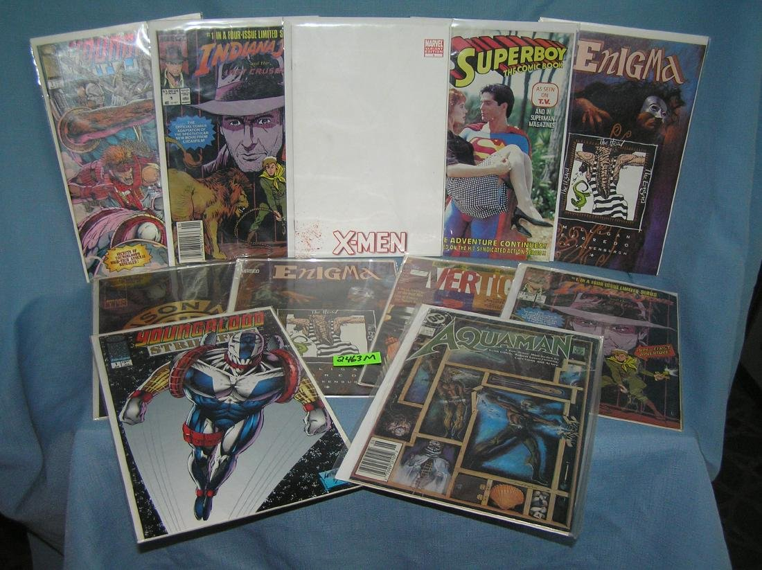 Collection of vintage first edition comic books