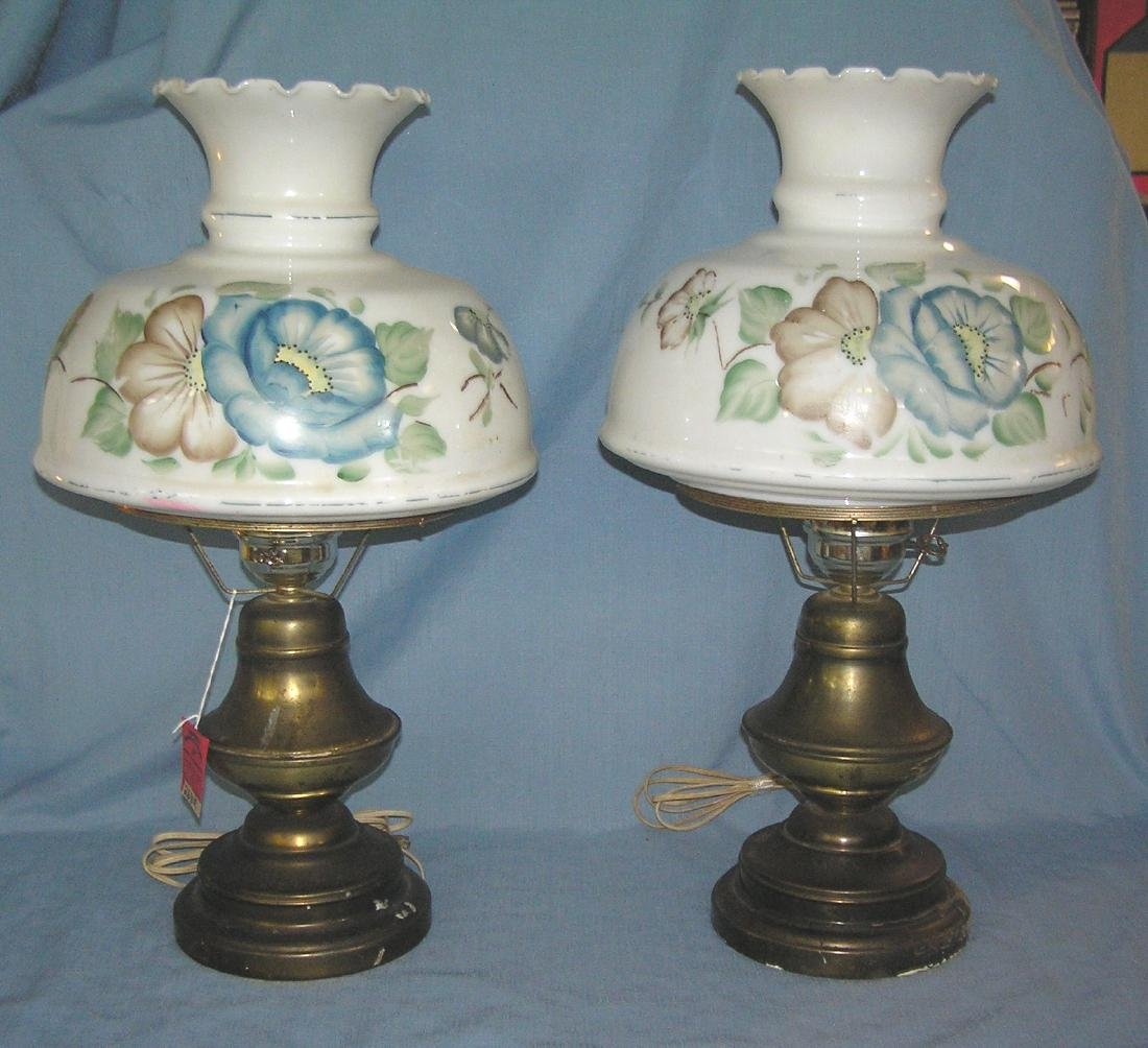 Pair of great vintage colonial style table lamps