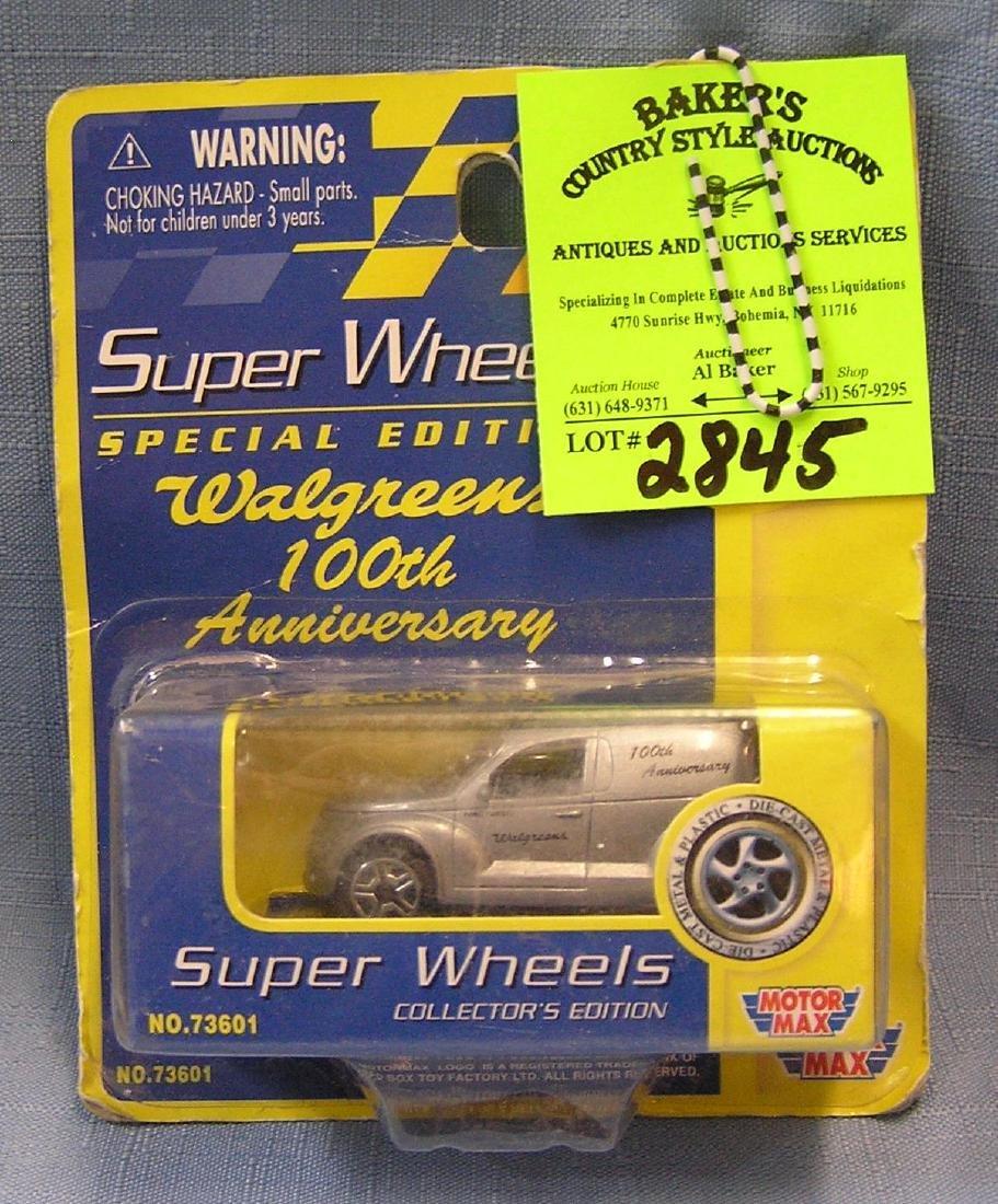 Vintage super wheels panel truck mint on card