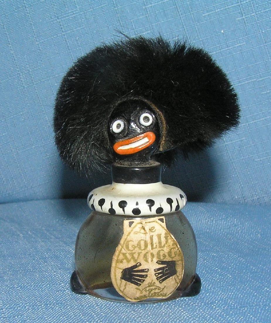 Rare figural Golliwog perfume bottle