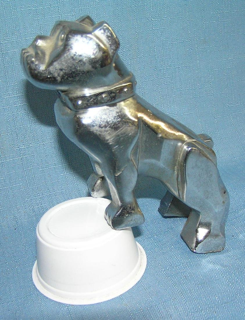 Bull dog Mack truck figural hood ornament - 2
