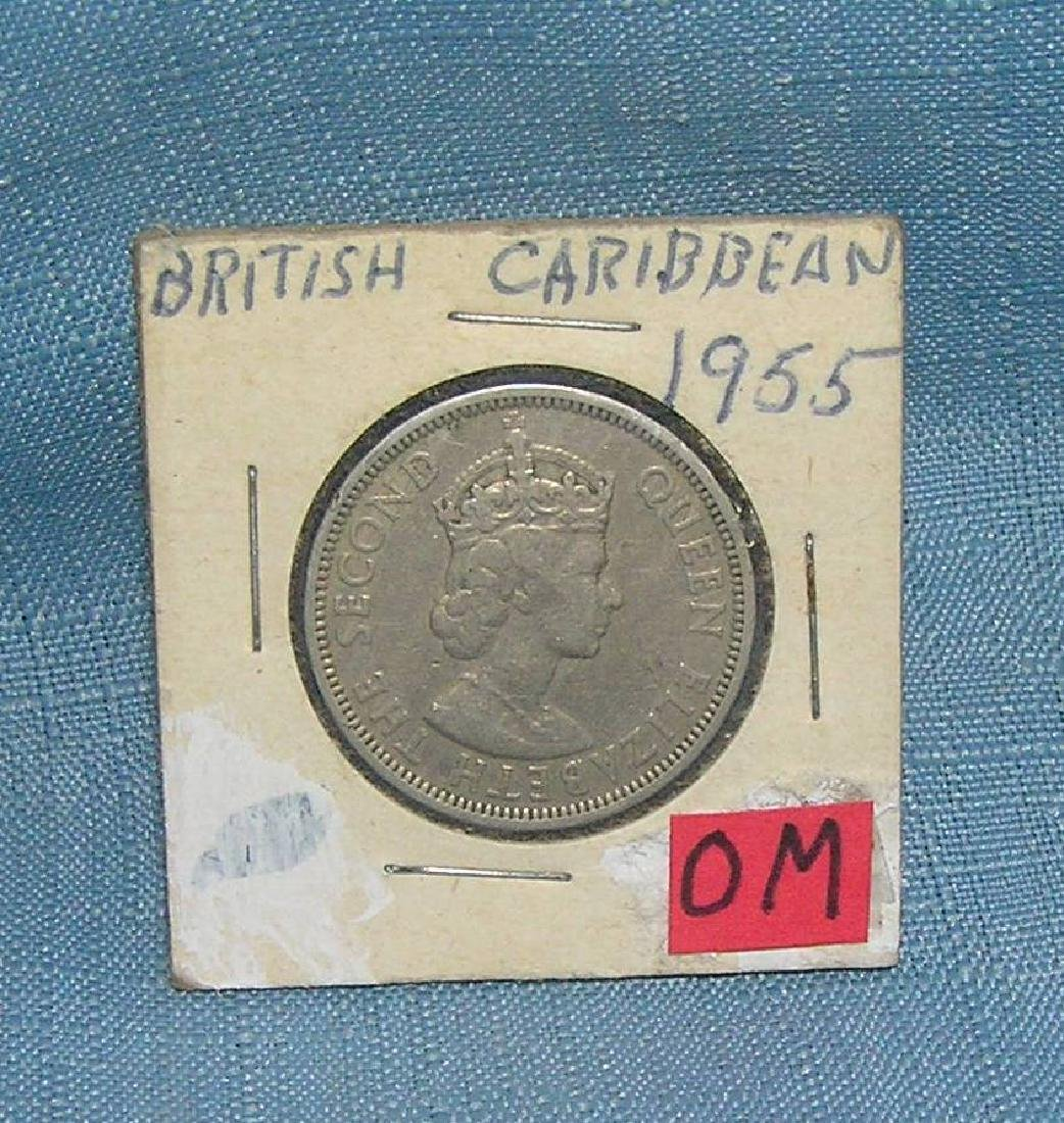 British Caribbean half dollar coin