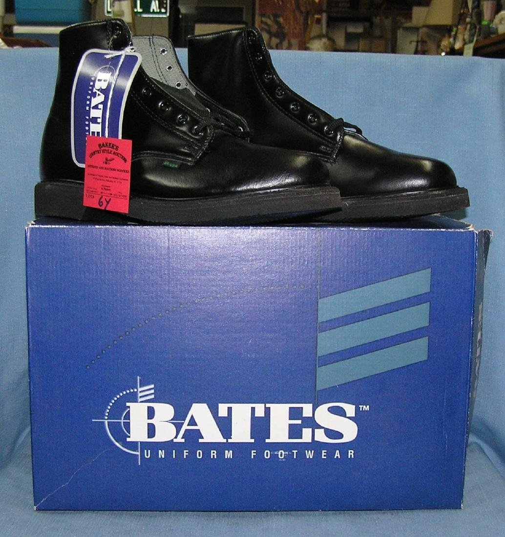 Pair of Bates waterproof and insulated work boots