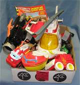 Box full of vintage Tonka toys