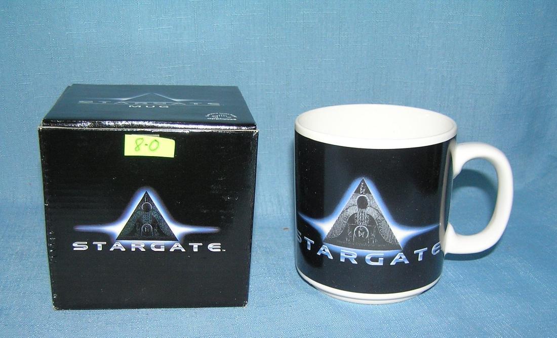 Vintage Star Gate Science Fiction mug