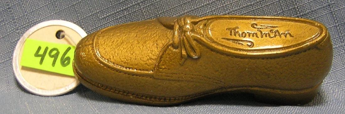 Miniature shoe display for Thom McCann