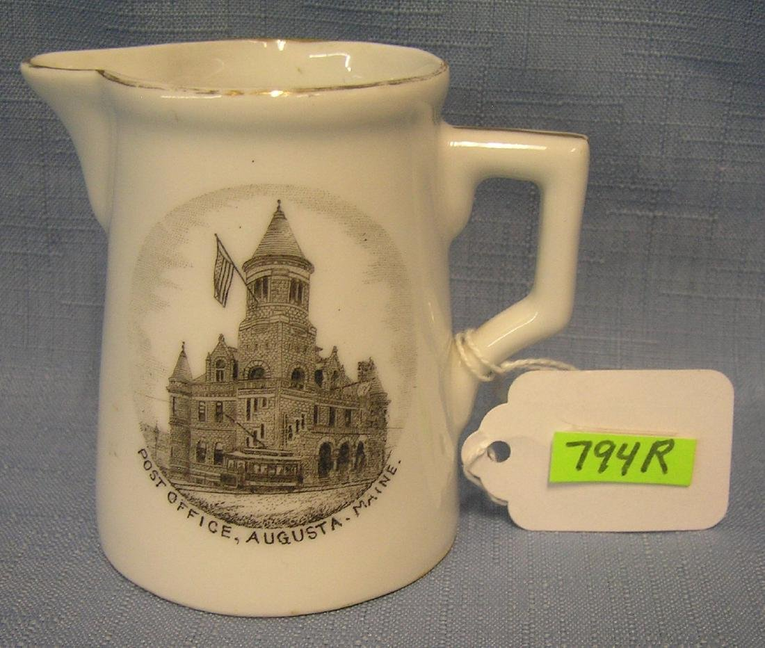 Creamer from the post office of Augustus Maine
