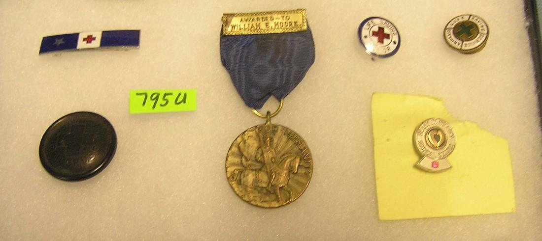 Early Red Cross and lifesaving collectibles