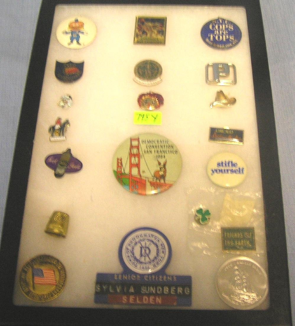 Vintage advertising pieces and collectibles