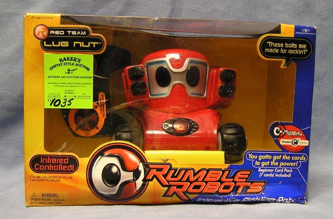 Rumble Robots mint in original box