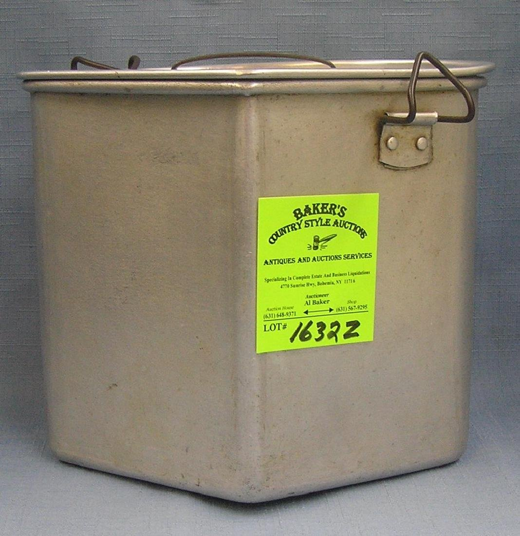 WWII military serviceman's food container