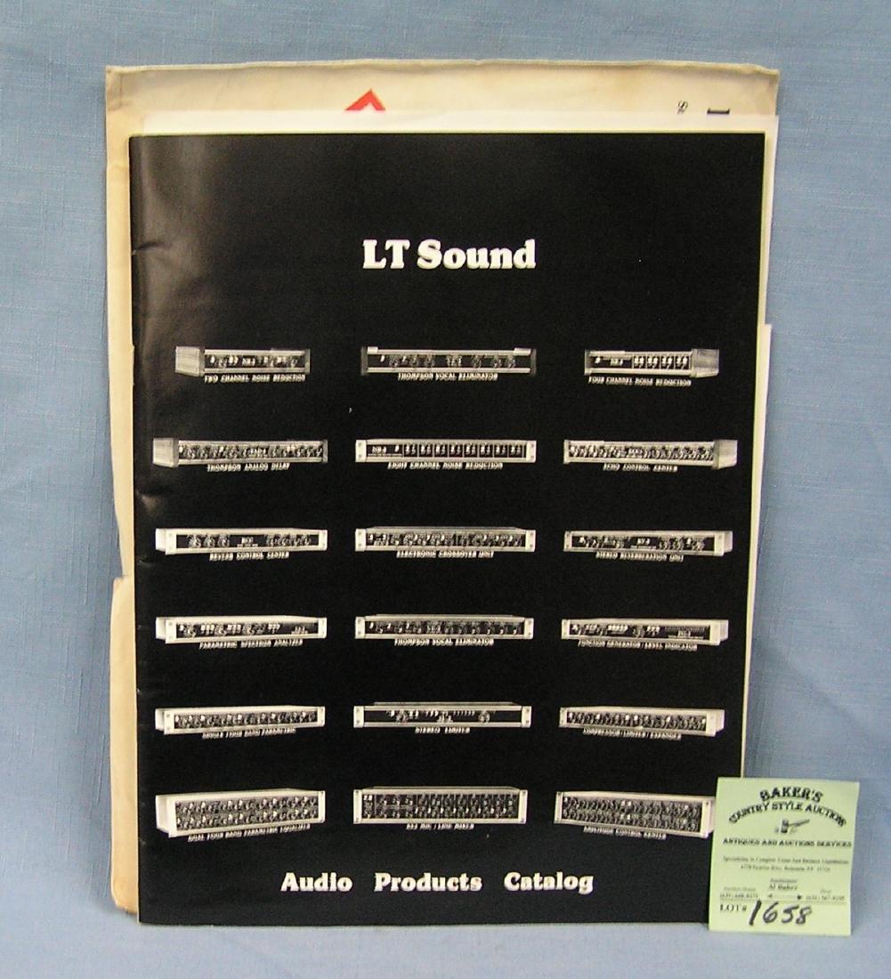 LT sound company audio catalog