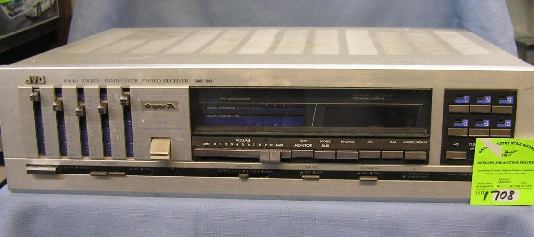 Vintage JVC digital synthesizer stereo receiver
