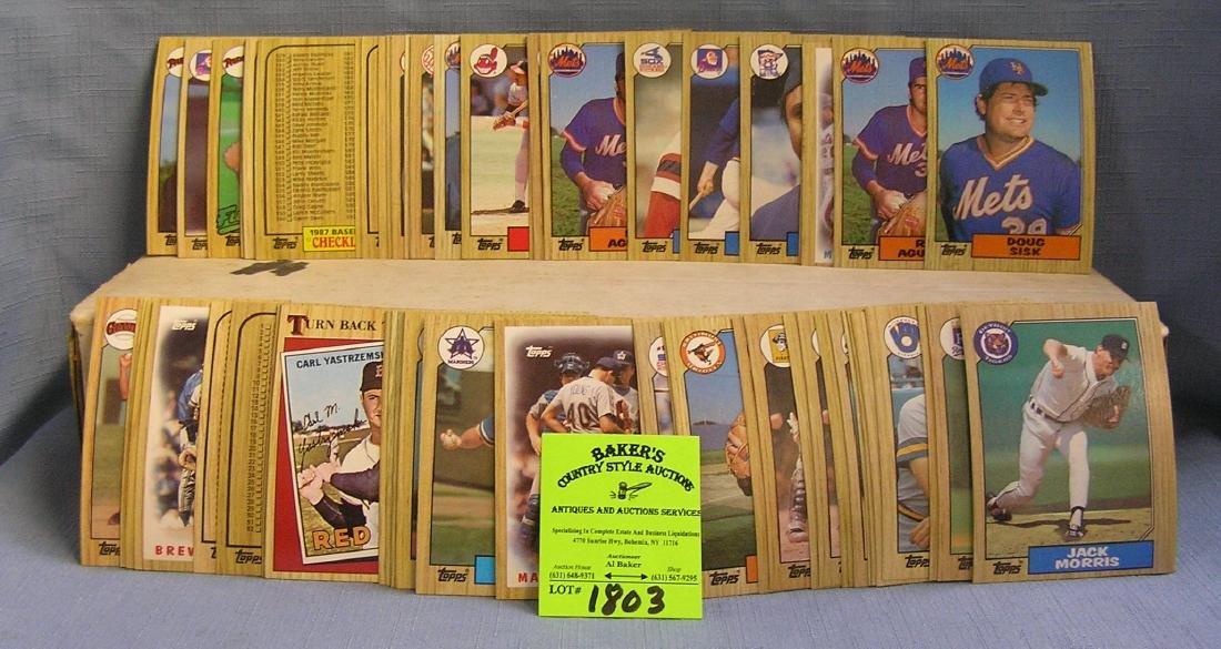 Topps baseball card set