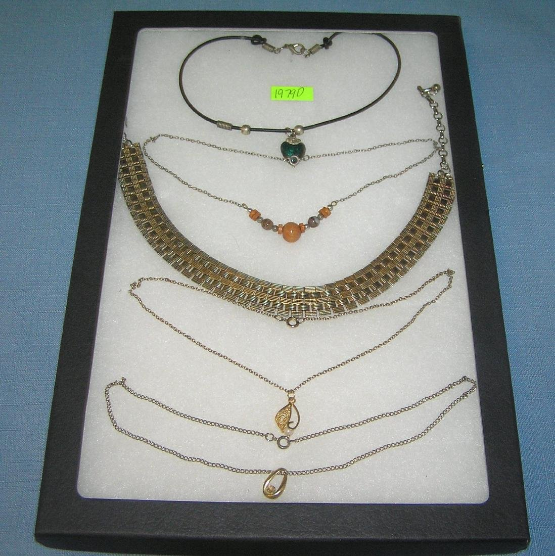 Quality costume jewelry necklaces