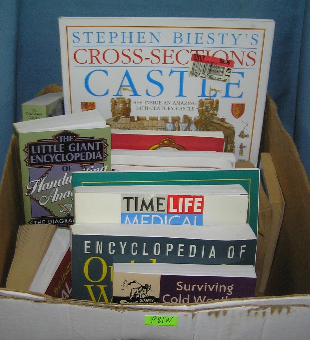 Box full of estate books