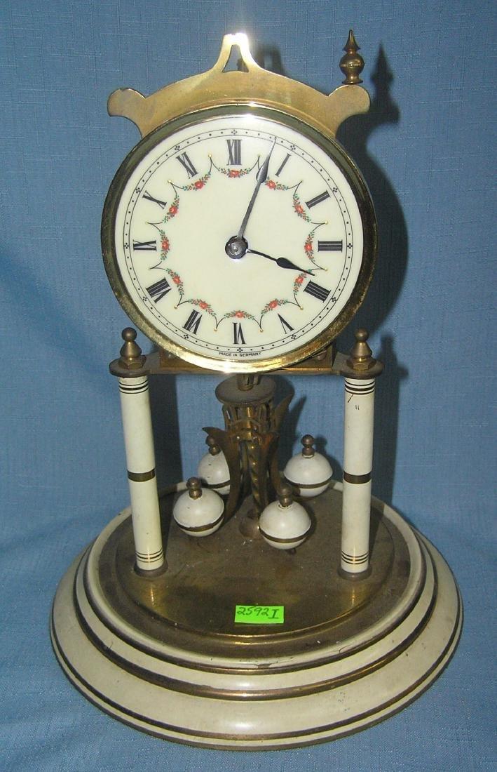 German made all brass shelf clock