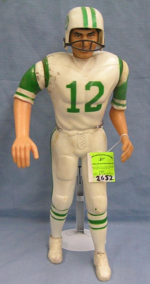 Joe Namath football figure by Mego toys