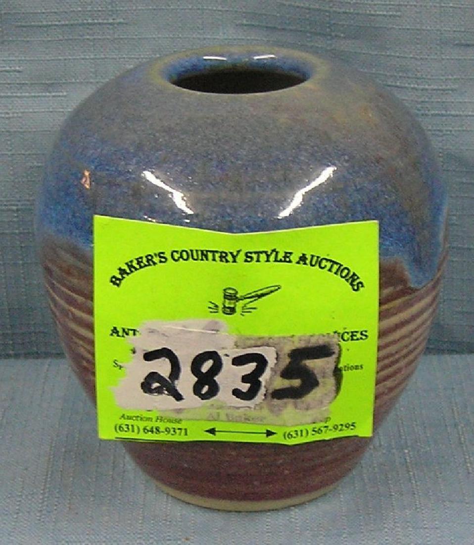 Art pottery vase signed  Bob Verschure