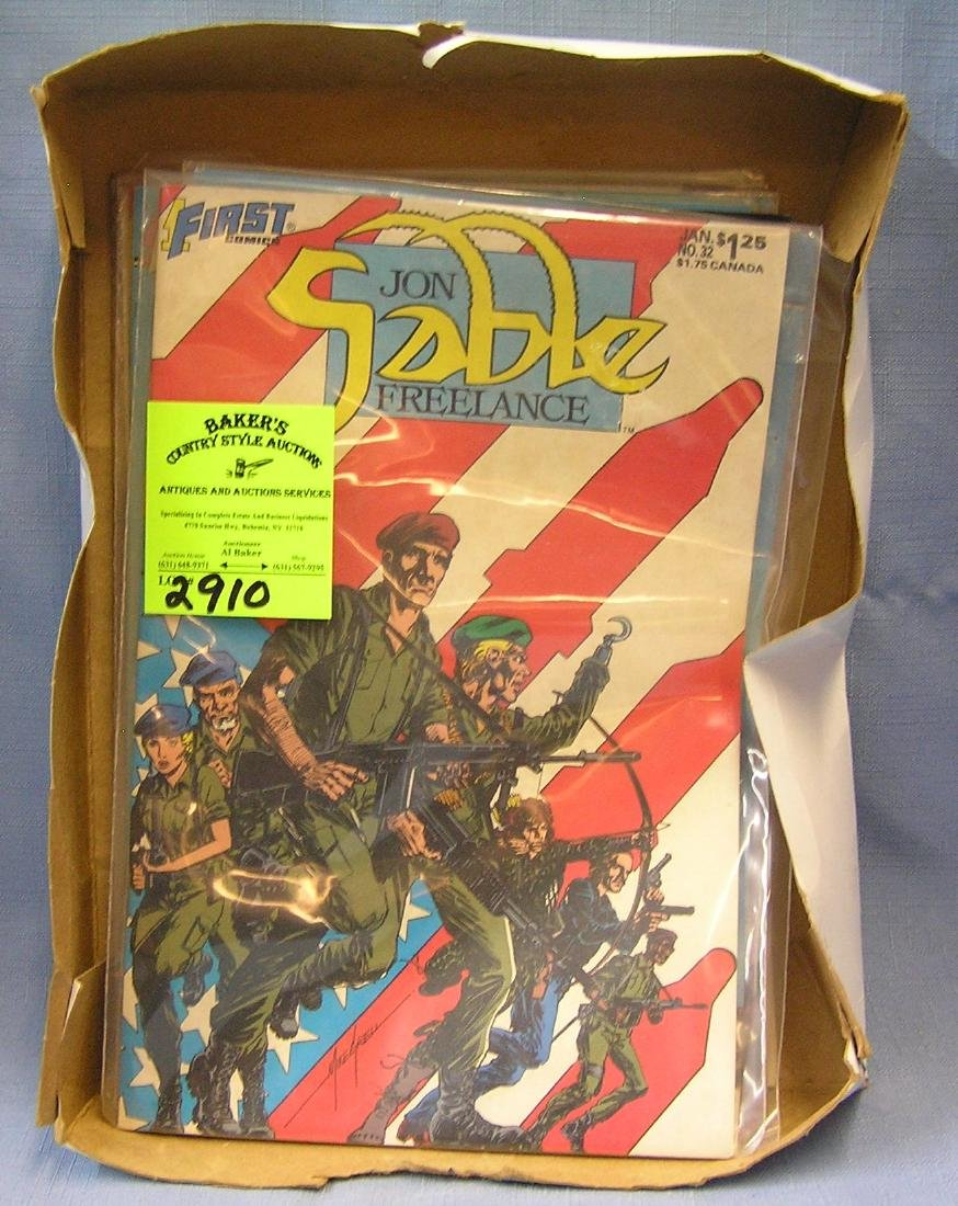 Collection of vintage comic books
