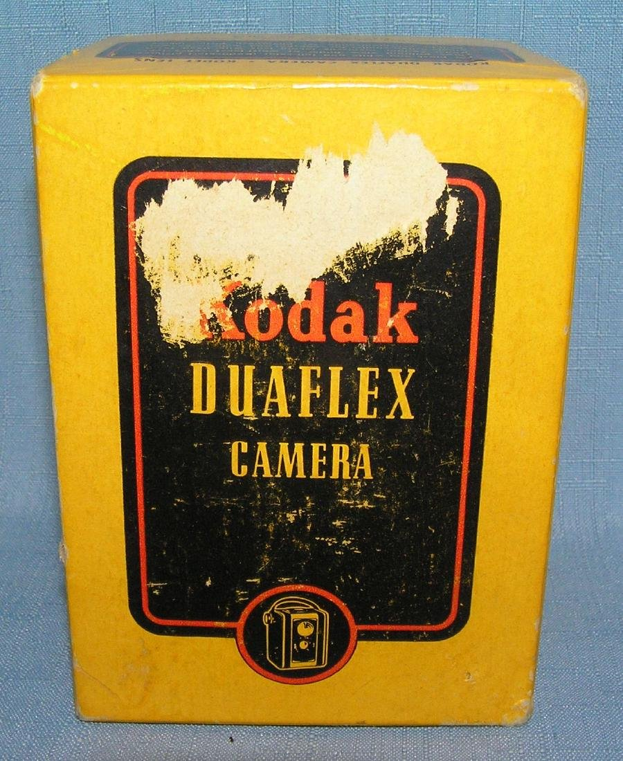 Early Kodak duoflex camera  and more - 2