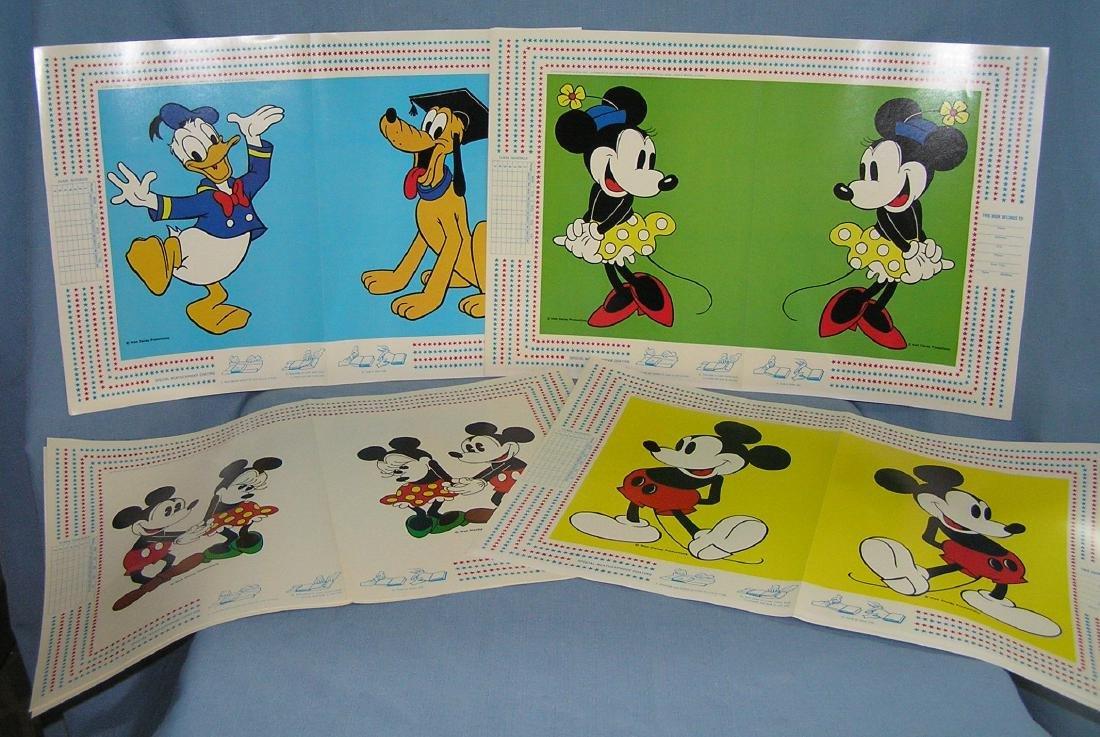 Walt Disney World character book covers