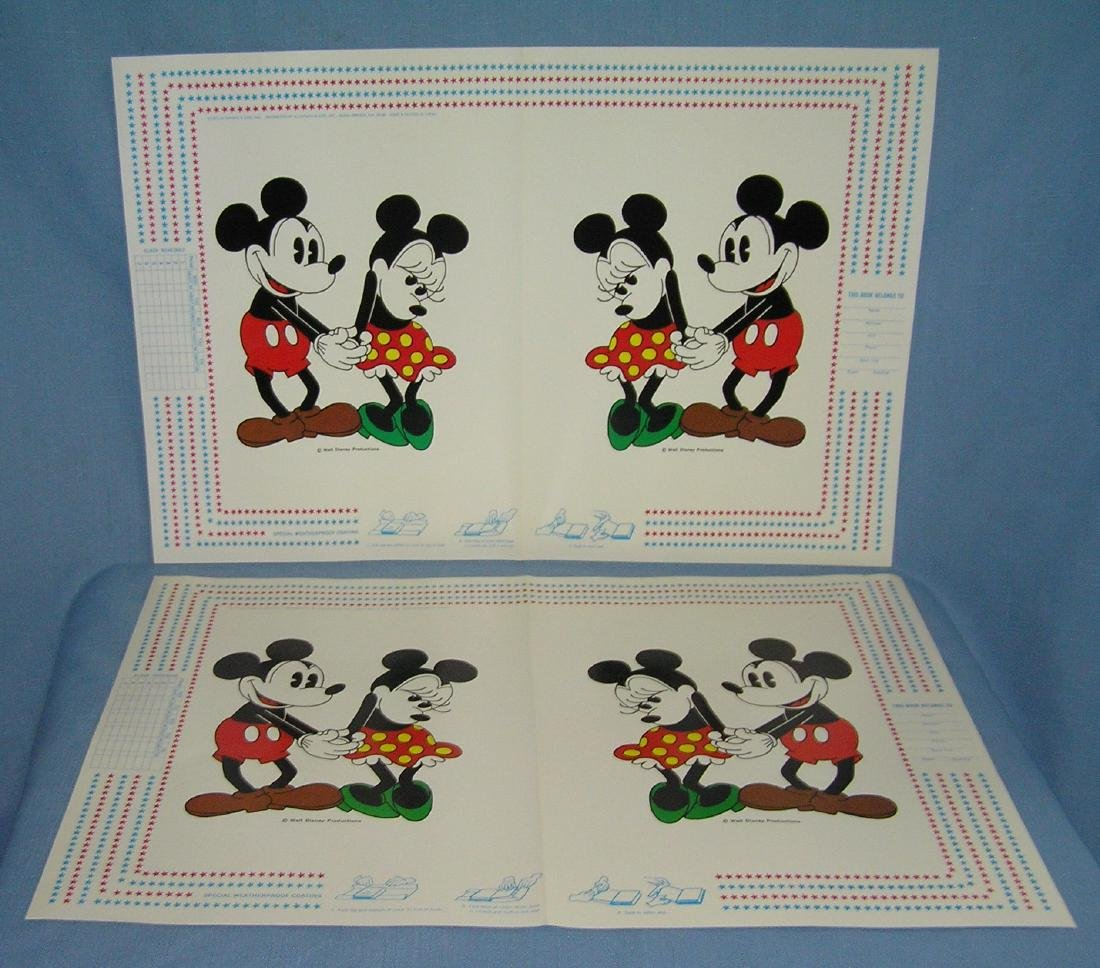 Walt Disney World character book covers - 3