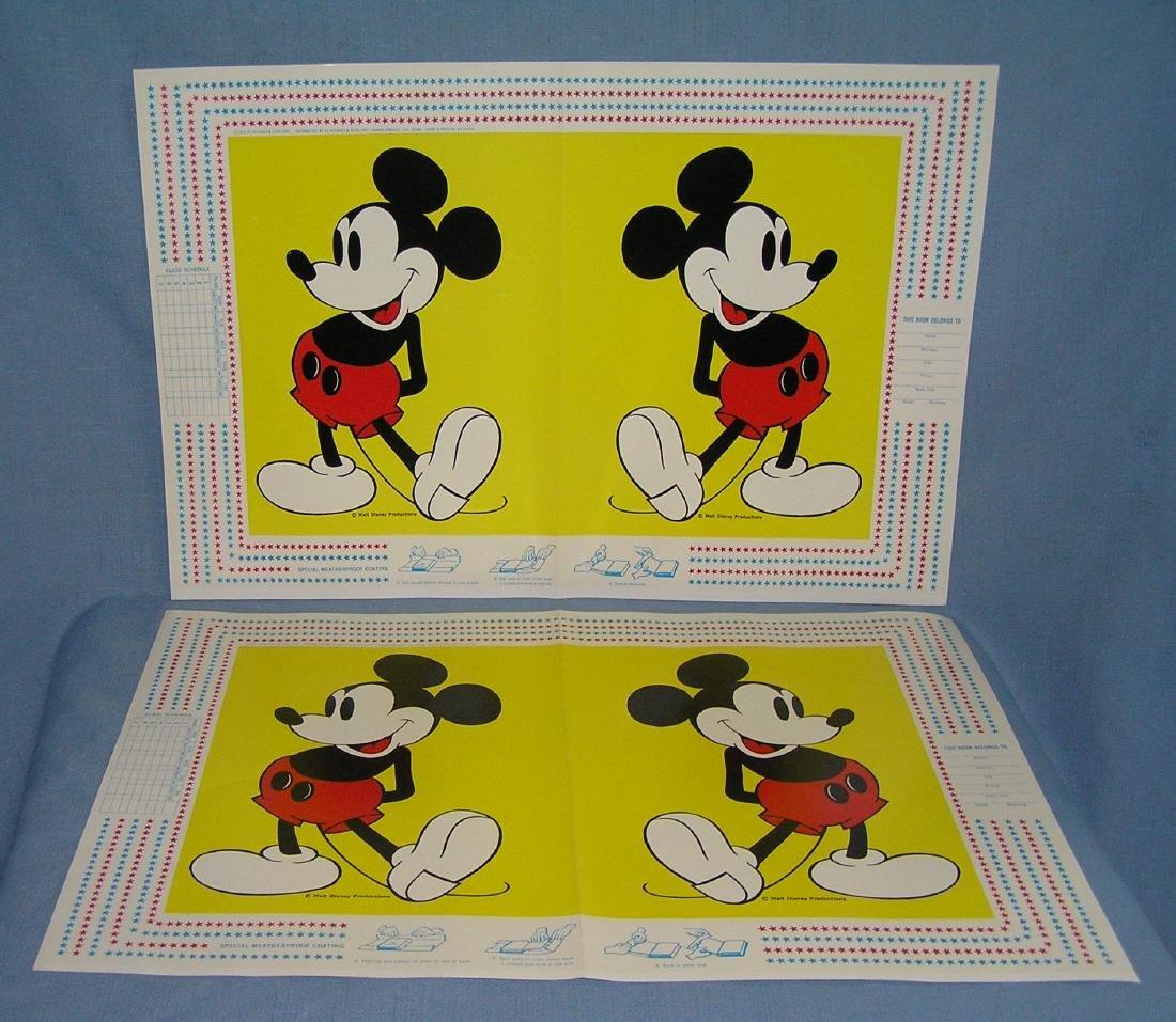 Walt Disney World character book covers - 4