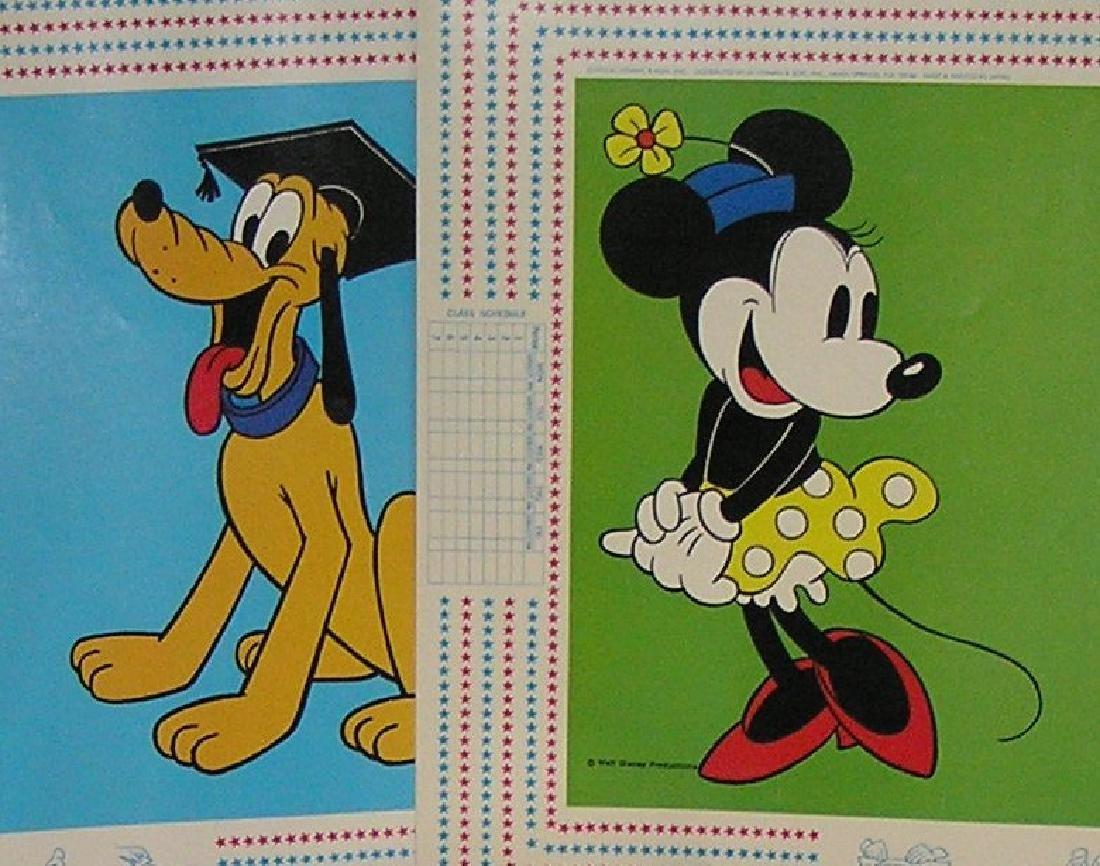 Walt Disney World character book covers - 5