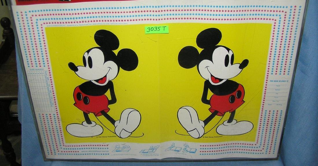 Walt Disney World character book covers - 6