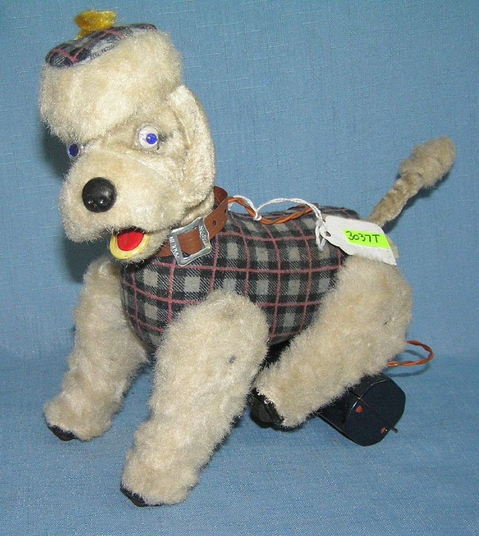 Battery operated mechanical poodle toy