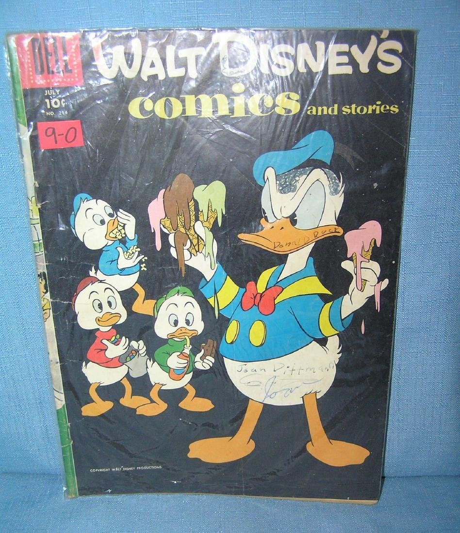 Early Walt Disney comic book featuring Donald Duck