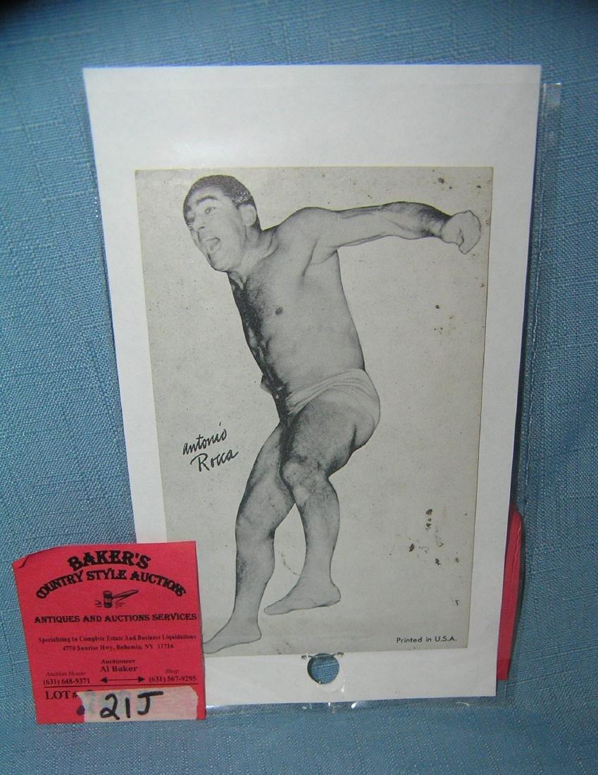 Antonio Rocker wrestling penny arcade sports card