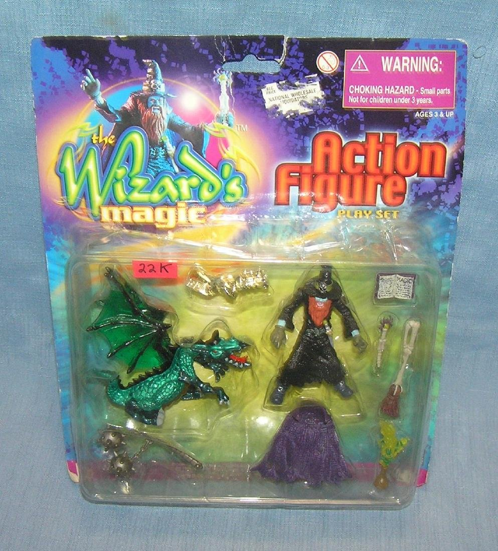 The Wizard's Magic Action figure play set