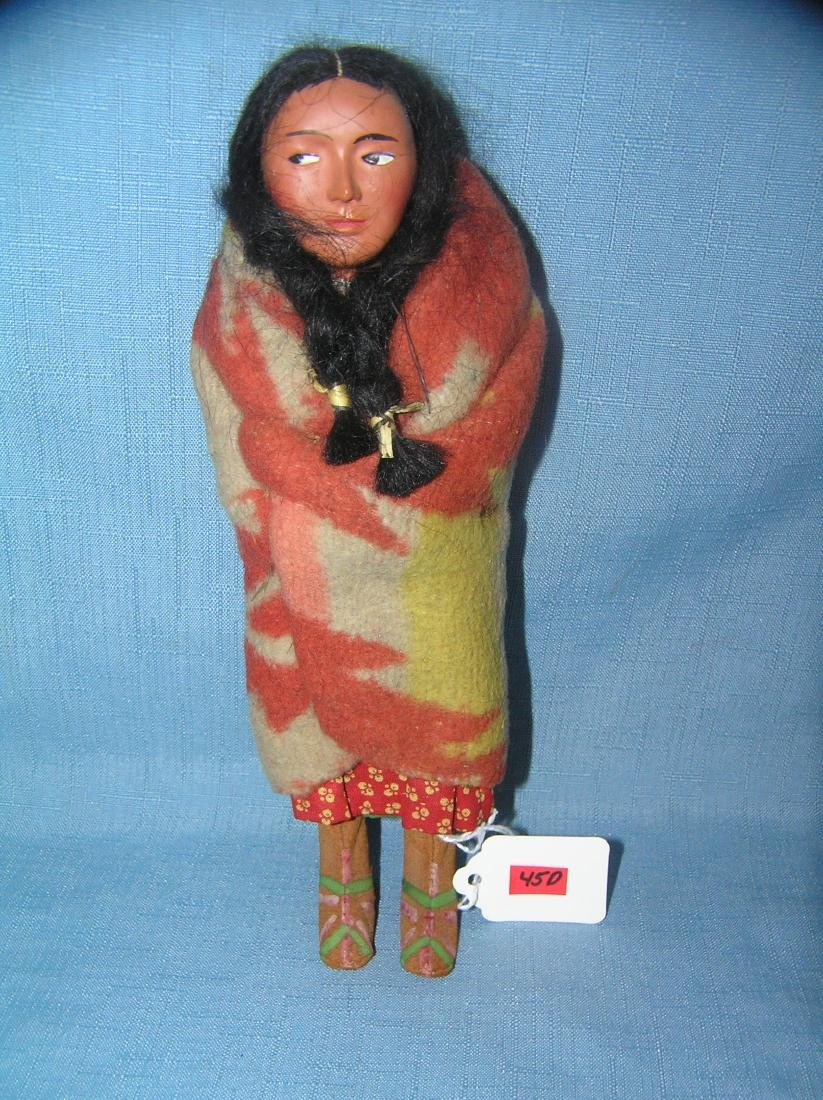 Native American Indian hand made Skookum doll