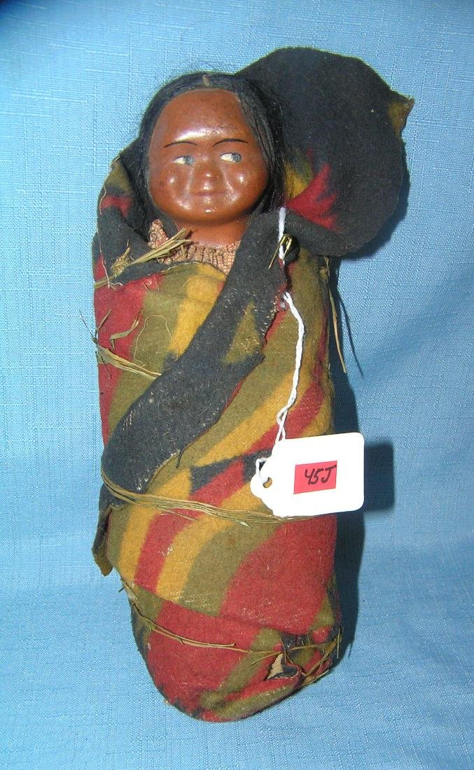 Native American Indian Skookum baby doll