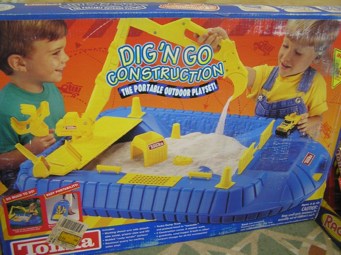 Large Tonka Dig and Go construction play set