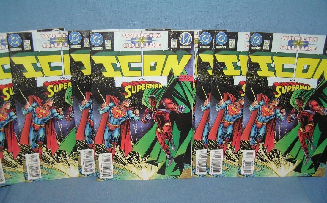 Group of vintage dealer new old stock comic books