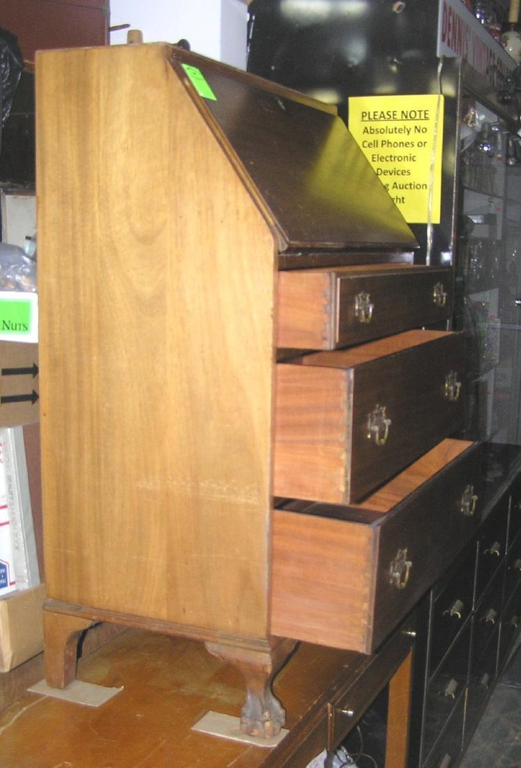 Antique Governor Winthrop drop front desk - 3