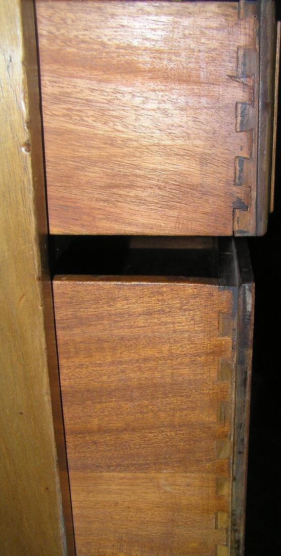 Antique Governor Winthrop drop front desk - 4