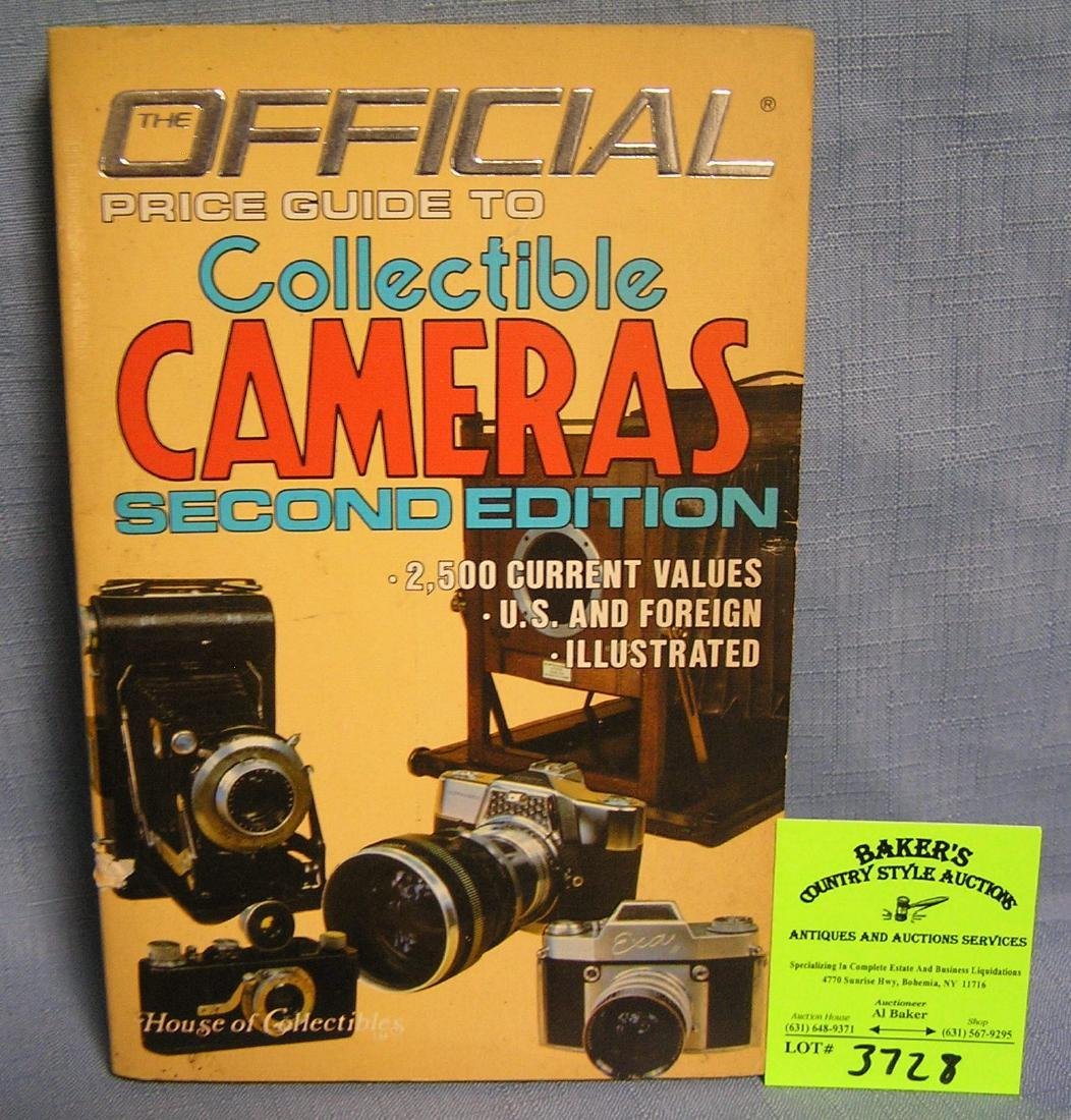 Collectible cameras ID and value guide