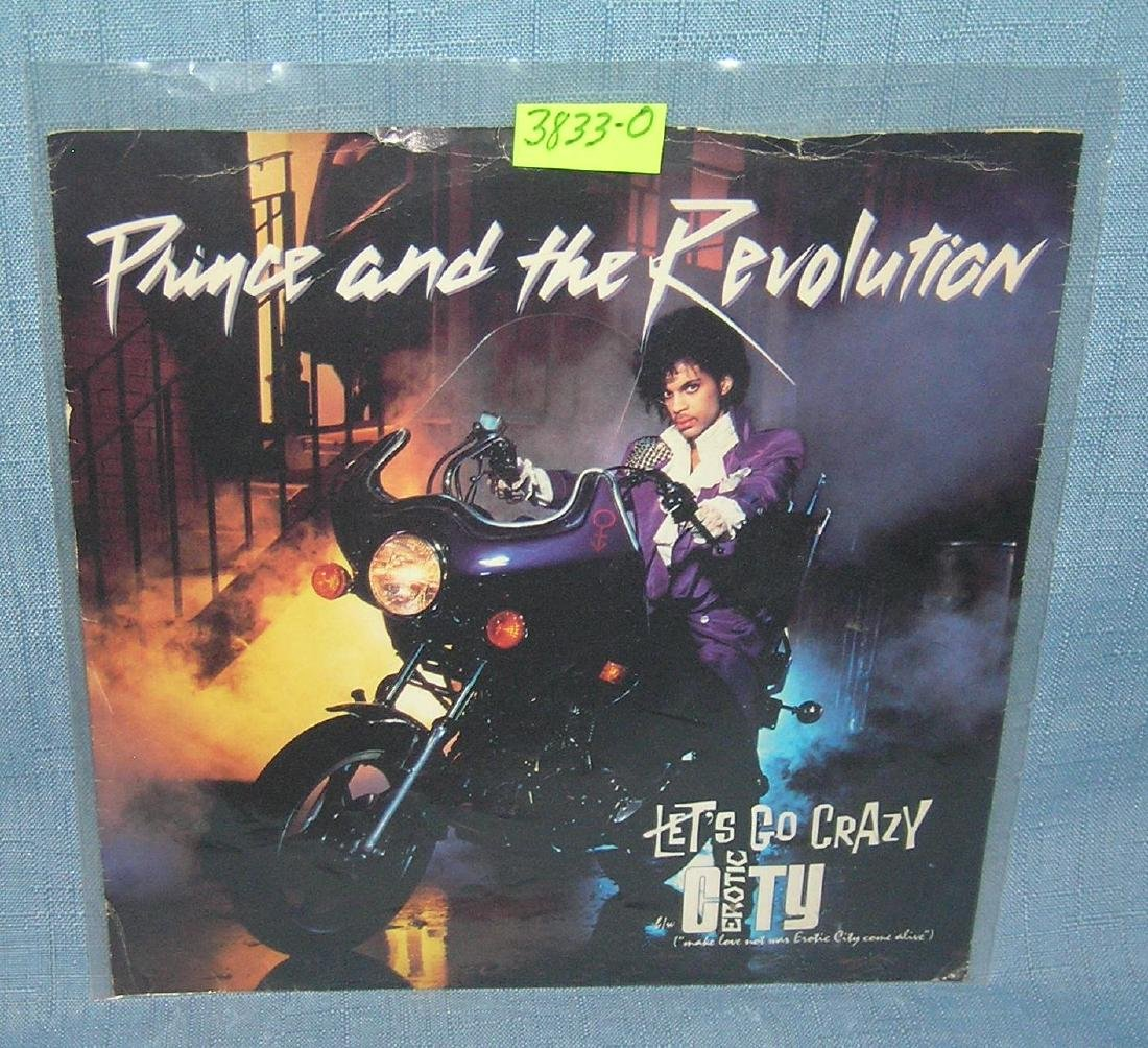 Prince and the Revolution vintage 45 RPM record