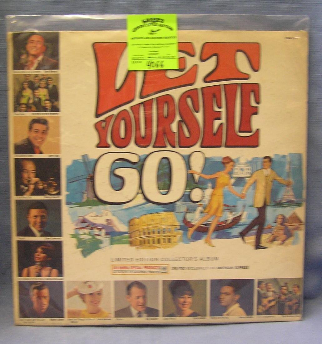 Vintage Let Yourself Go record album