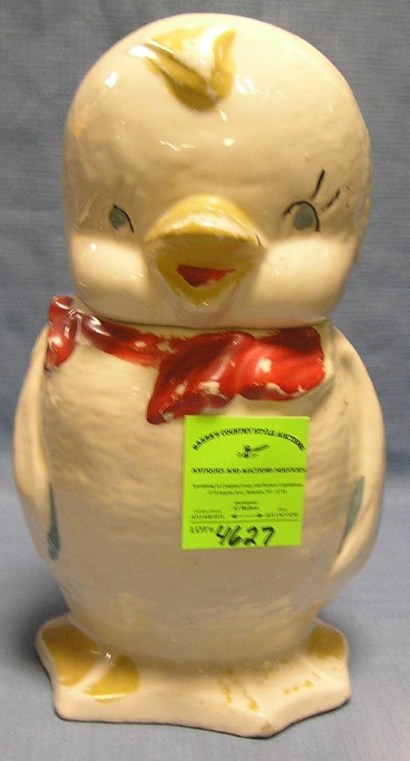 Baby Duck vintage cookie jar