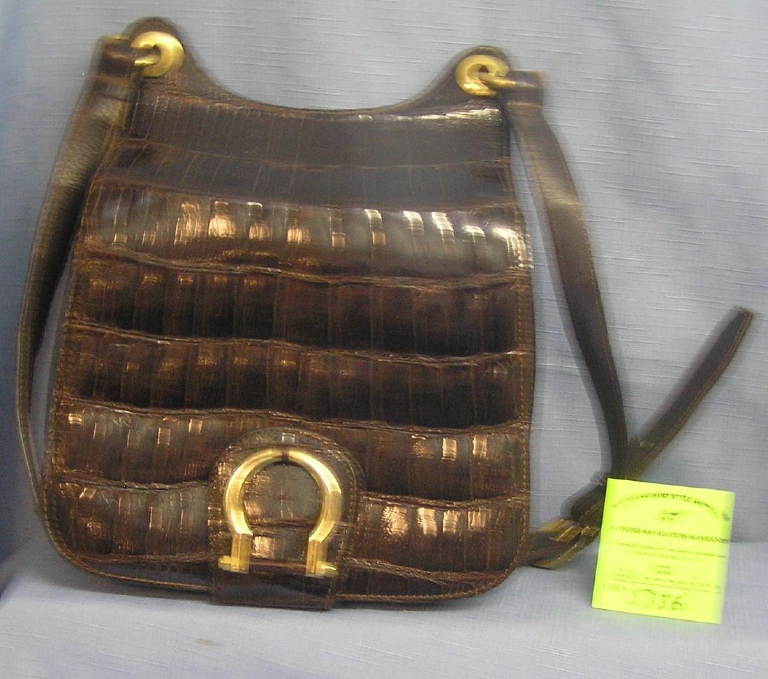 High quality vintage leather handbag