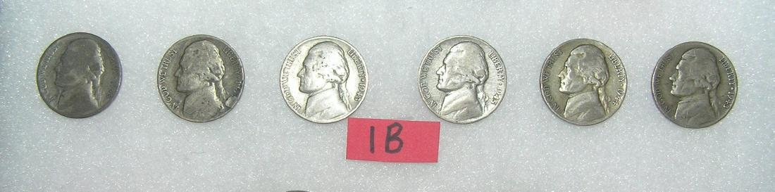 Group of Early American Silver Nickels