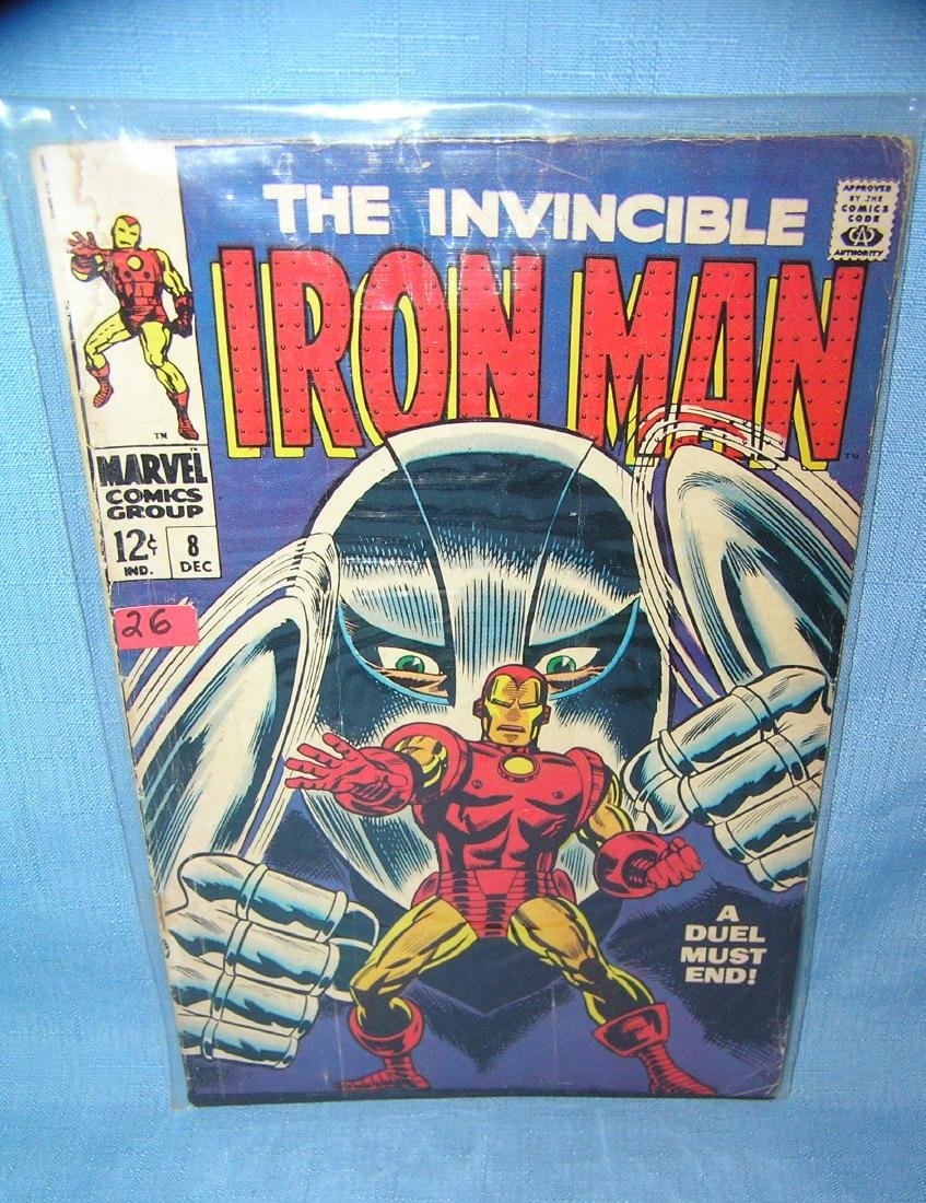 Early Ironman comic book, number 8 by Marvel comics