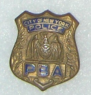 Collection of vintage NY City police badges - 3