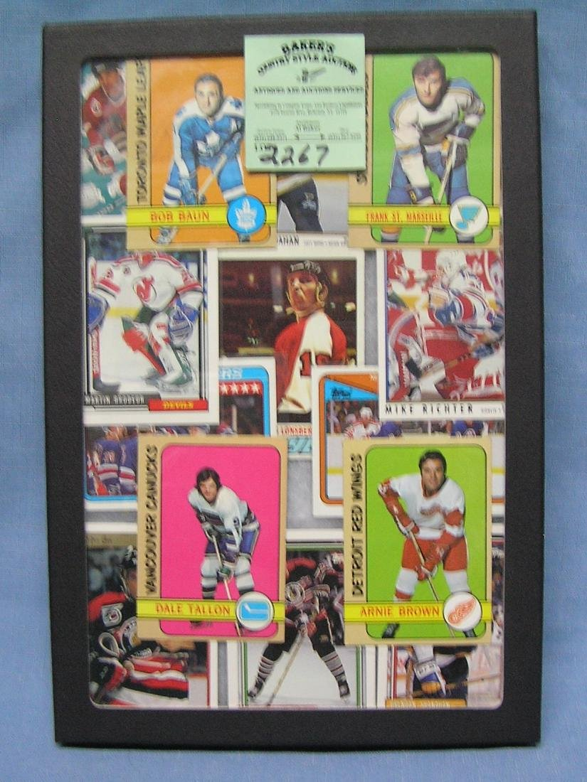 Collection of vintage hockey cards