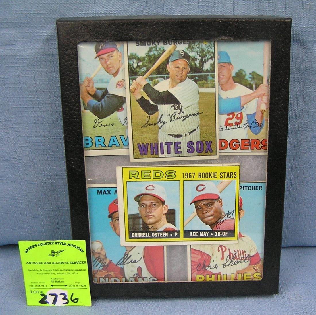 Collection of vintage baseball cards